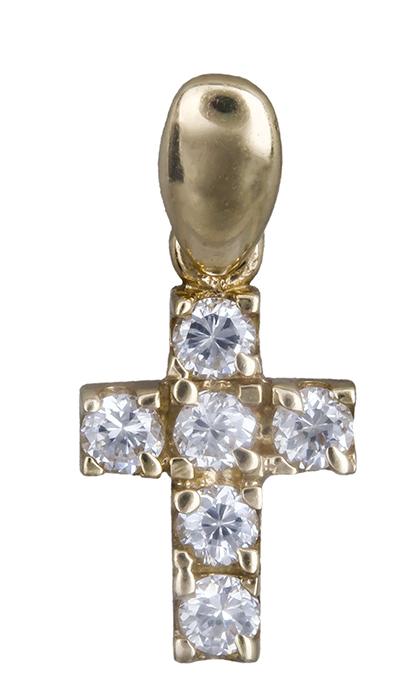 Χρυσός Σταυρός Κ14 000470 000470 Χρυσός 14 Καράτια χρυσά κοσμήματα σταυροί