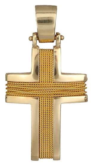 Σταυροί Βάπτισης - Αρραβώνα ΧΡΥΣΟΣ ΣΤΑΥΡΟΣ 18Κ 014119 014119 Ανδρικό Χρυσός 18 Καράτια