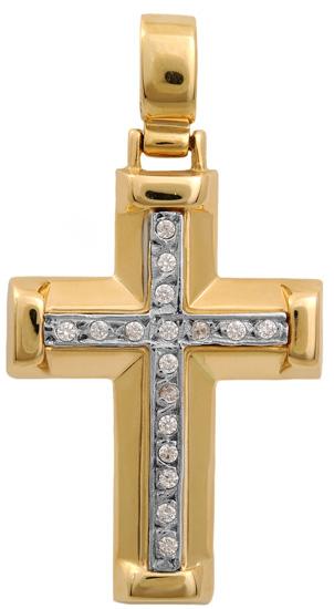 Σταυροί Βάπτισης - Αρραβώνα Χρυσός σταυρός 14K 000679 Γυναικείο Χρυσός 14 Καράτια