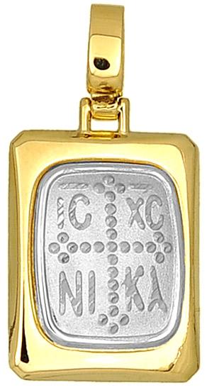Δίχρωμο κωνσταντινάτο 14Κ 000698 000698 Χρυσός 14 Καράτια