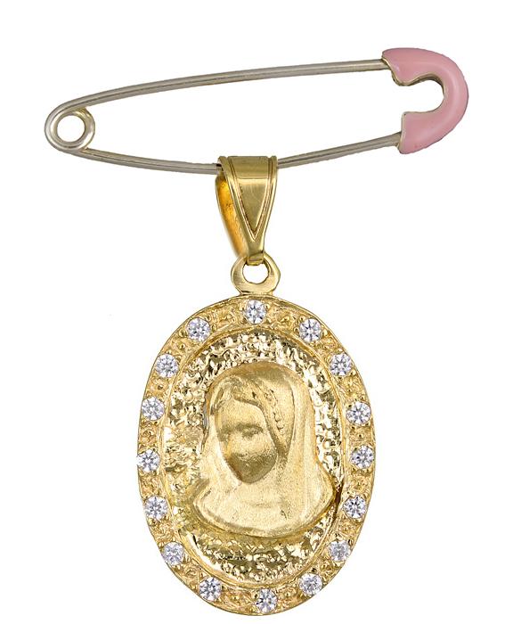 Χρυσό Φυλαχτό Κ14 C000699 000699C Χρυσός 14 Καράτια