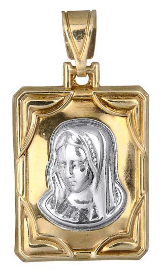 Δίχρωμο Φυλαχτό K14 000731 000731 Χρυσός 14 Καράτια