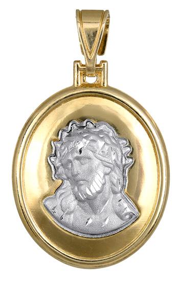 Δίχρωμο Φυλαχτό K14 000752 000752 Χρυσός 14 Καράτια