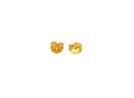 Χρυσό κούμπωμα για σκουλαρίκια 000754 000754