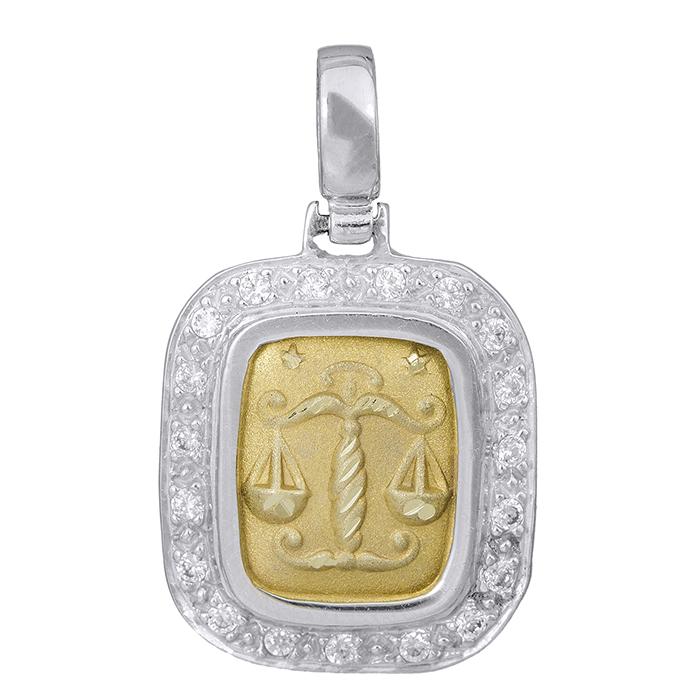 Δίχρωμο Ζώδιο Κ14 000798 000798 Χρυσός 14 Καράτια