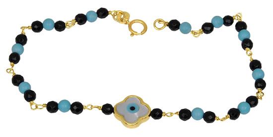 Χρυσό Βραχιόλι Κ14 000868 Χρυσός 14 Καράτια χρυσά κοσμήματα βραχιόλια