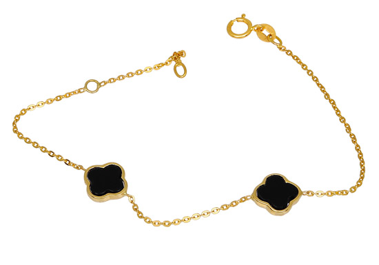 Χρυσό Βραχιόλι Κ14 000870 000870 Χρυσός 14 Καράτια χρυσά κοσμήματα βραχιόλια