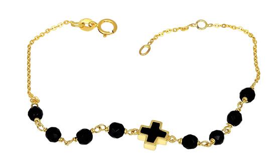 Χρυσό Βραχιόλι Κ14 000873 Χρυσός 14 Καράτια χρυσά κοσμήματα βραχιόλια