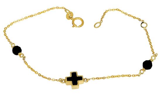 Χρυσό Βραχιόλι Κ14 000875 Χρυσός 14 Καράτια χρυσά κοσμήματα βραχιόλια