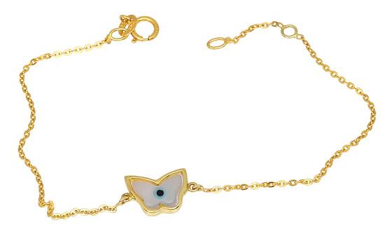Χρυσό Βραχιόλι Κ14 000878 Χρυσός 14 Καράτια χρυσά κοσμήματα βραχιόλια