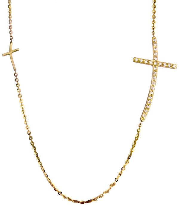 Χρυσό κολιέ 9Κ 012634 Χρυσός 9 Καράτια χρυσά κοσμήματα κολιέ