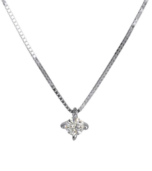 Λευκόχρυσο Κρεμαστό Κ18 με διαμάντι 000941 000941 Χρυσός 18 Καράτια