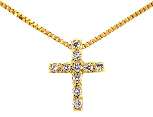 Χρυσός Σταυρός Κ18 με διαμάντια 000944 000944 Χρυσός 18 Καράτια χρυσά κοσμήματα κολιέ
