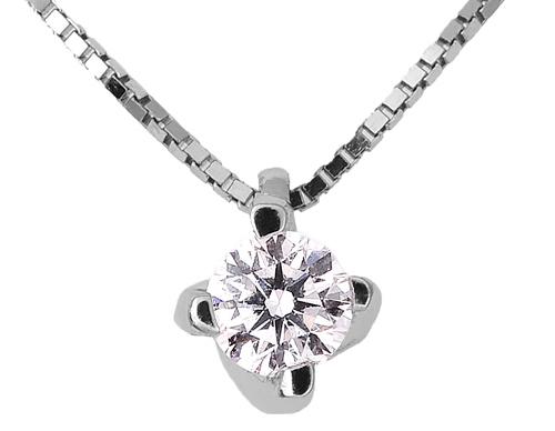 Λευκόχρυσο Κρεμαστό Κ18 με διαμάντι 000949 000949 Χρυσός 18 Καράτια
