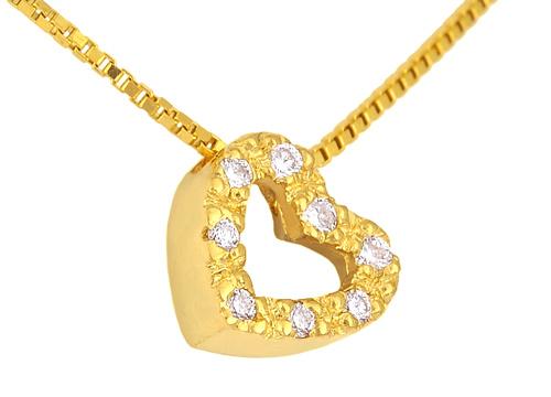 Χρυσό Κρεμαστό Κ18 με διαμάντια 000951 000951 Χρυσός 18 Καράτια