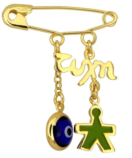 Χρυσή παραμάνα Κ14 000966 Χρυσός 14 Καράτια