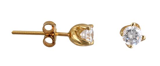 Χρυσά Σκουλαρίκια Κ14 000970 000970 Χρυσός 14 Καράτια