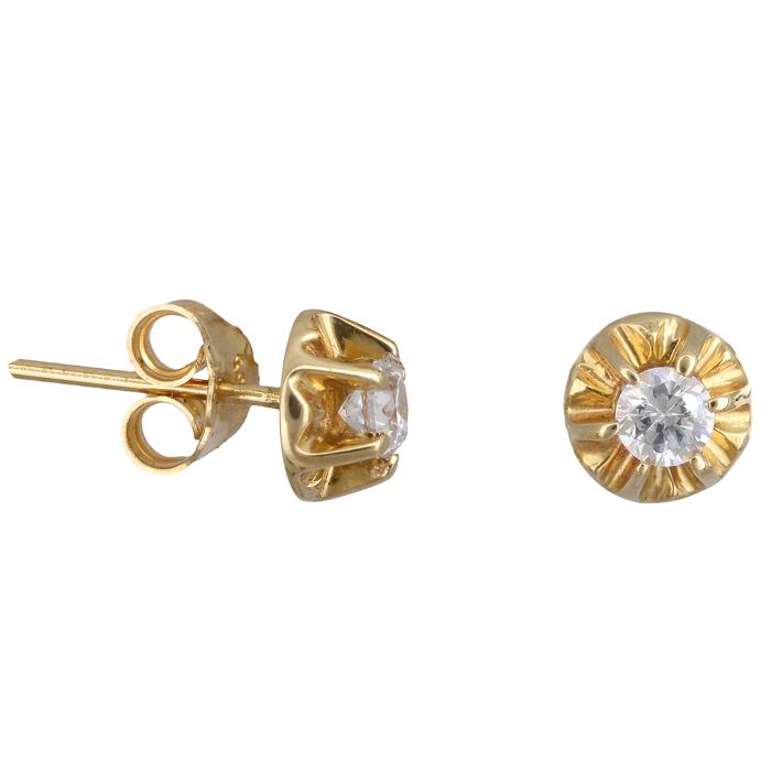 Xρυσά Σκουλαρίκια Κ14 000976 000976 Χρυσός 14 Καράτια