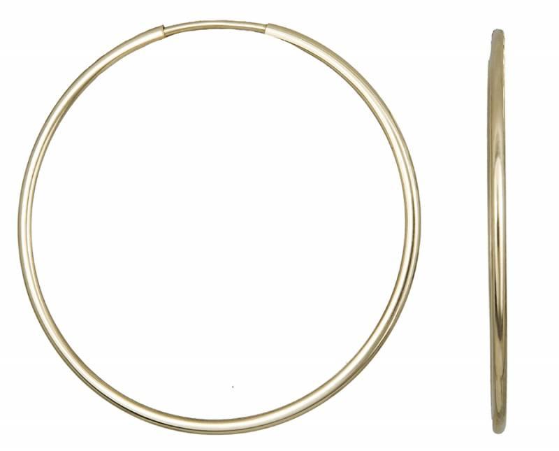 Χρυσά Σκουλαρίκια Κρίκοι Κ14 001016 001016 Χρυσός 14 Καράτια