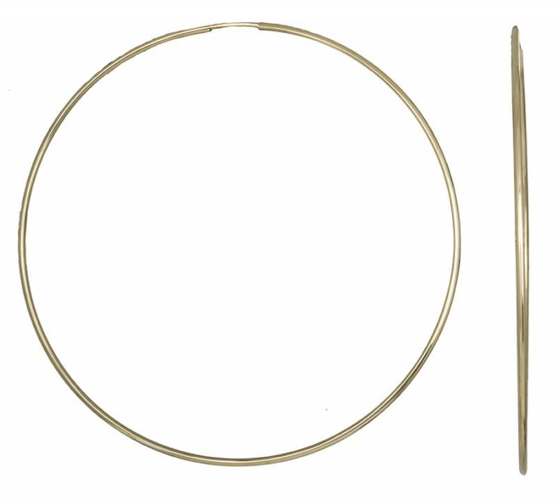 Χρυσά Σκουλαρίκια Κρίκοι Κ14 001020 001020 Χρυσός 14 Καράτια