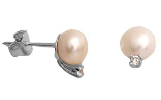Λευκόχρυσα σκουλαρίκια 14Κ 001022 001022 Χρυσός 14 Καράτια χρυσά κοσμήματα σκουλαρίκια καρφωτά