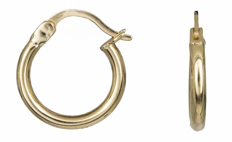 Χρυσά Σκουλαρίκια Κρίκοι Κ14 001034 001034 Χρυσός 14 Καράτια