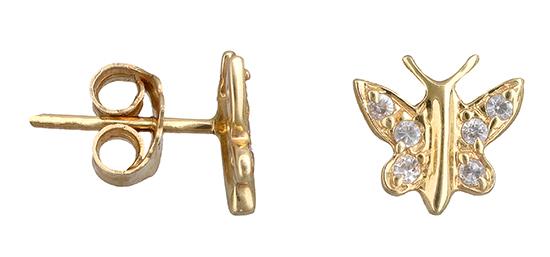 Χρυσά σκουλαρίκια Κ14 001160 001160 Χρυσός 14 Καράτια