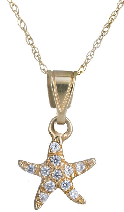 Χρυσό κολιέ αστερίας Κ14 001221 001221 Χρυσός 14 Καράτια