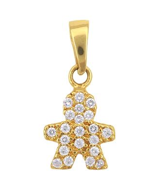 Χρυσό Κρεμαστό Κ14 001224 001224 Χρυσός 14 Καράτια