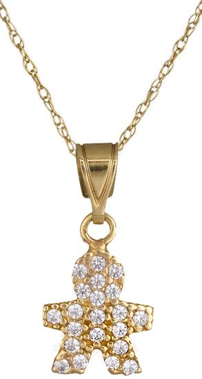 Χρυσό κολιέ C001224 001224C Χρυσός 14 Καράτια