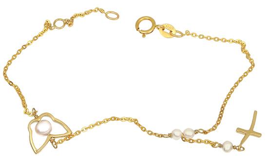 Χρυσό Βραχιόλι Κ14 001301 Χρυσός 14 Καράτια