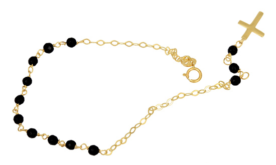 Χρυσό Βραχιόλι Κ14 001305 Χρυσός 14 Καράτια