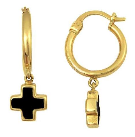 Χρυσά ΣκουλαρίκιαΚρίκοι Κ14 001351 001351 Χρυσός 14 Καράτια