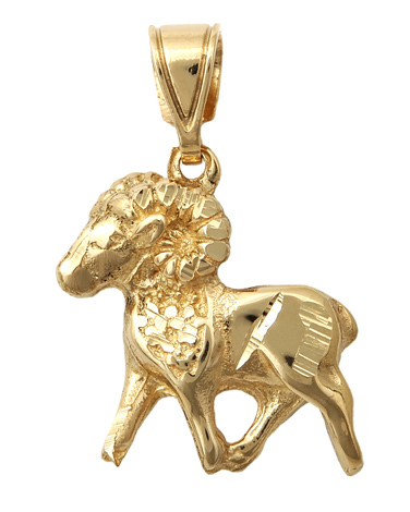Χρυσό Ζώδιο Κ14 001419 001419 Χρυσός 14 Καράτια