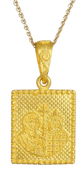 Χρυσό κωνσταντινάτο Κ14 015983 015983 Χρυσός 14 Καράτια