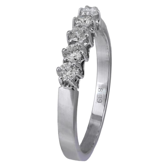 Σειρέ δαχτυλίδι με διαμάντια Κ18 016104 016104 Χρυσός 18 Καράτια