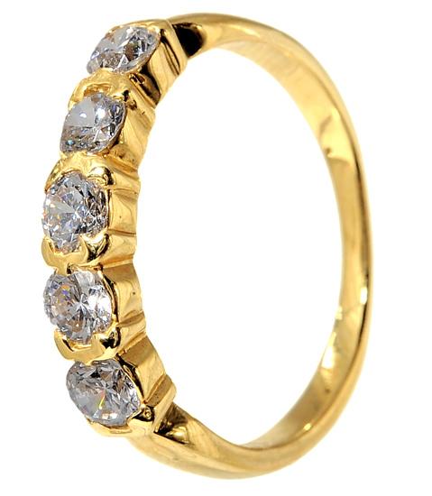 Χρυσό σειρέ δαχτυλίδι 14 καράτια 001958 Χρυσός 14 Καράτια