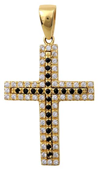 Σταυροί Βάπτισης - Αρραβώνα Χρυσός Σταυρός 14Κ 001963 001963 Γυναικείο Χρυσός 14 Καράτια