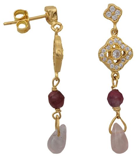 Χρυσά σκουλαρίκια 14Κ 002047 002047