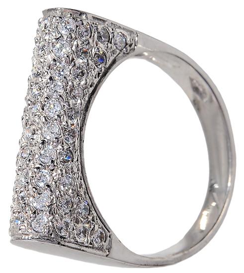 Λευκόχρυσο δαχτυλίδι 14 Κ 002097 Χρυσός 14 Καράτια