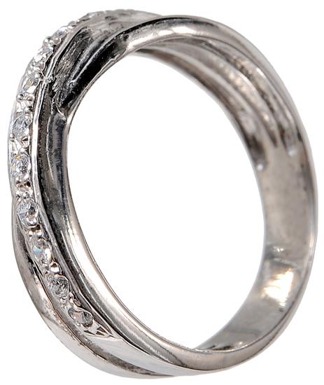Λευκόχρυσο δαχτυλίδι 14Κ 002103 002103 Χρυσός 14 Καράτια