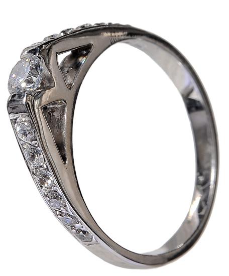 Γυναικείο δαχτυλίδι 925 020023 020023 Ασήμι ασημένια κοσμήματα μονόπετρα δαχτυλίδια