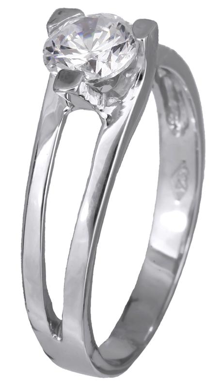 Δαχτυλίδι γυναικείο μονόπετρο 013812 013812 Χρυσός 9 Καράτια