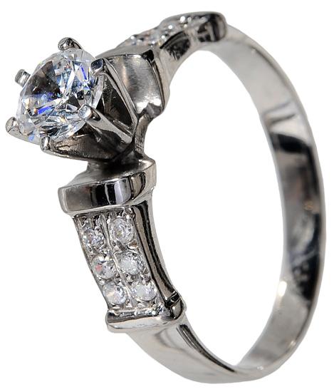 Μονόπετρο δαχτυλίδι 9Κ 013815 013815 Χρυσός 9 Καράτια