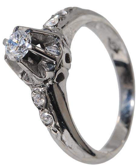 Δαχτυλίδι ασημένιο 925 020007 020007 Ασήμι