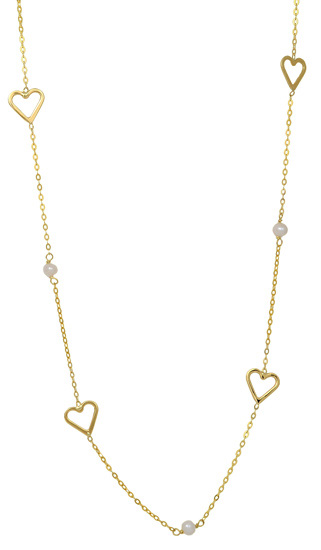 Χρυσό κολιέ 14 καράτια 002158 Χρυσός 14 Καράτια χρυσά κοσμήματα κολιέ