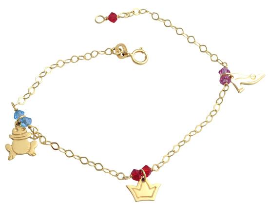 Χρυσό παιδικό βραχιόλι 14 καράτια 002297 Χρυσός 14 Καράτια
