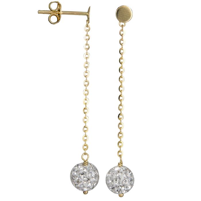 Χρυσά σκουλαρίκια 14Κ 002356 002356 Χρυσός 14 Καράτια