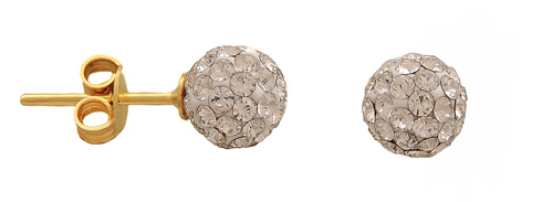 Χρυσά καρφωτά σκουλαρίκια Κ14 002357 002357 Χρυσός 14 Καράτια