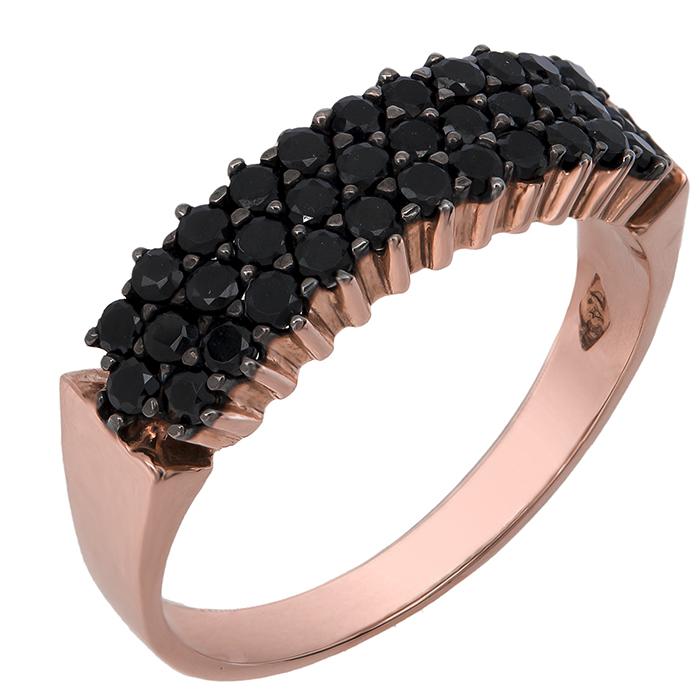 Δαχτυλίδι Ροζ- χρυσό Κ14 002577 002577 Χρυσός 14 Καράτια
